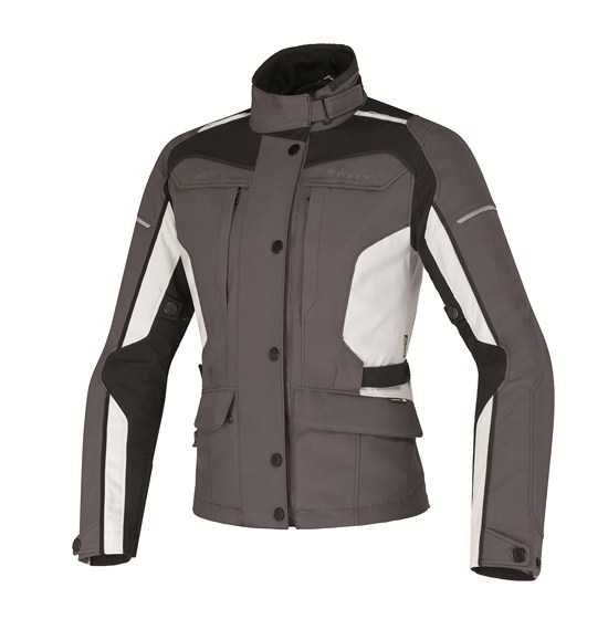Dainese Zima Gore-Tex Lady jacket dark gull grey-high rise