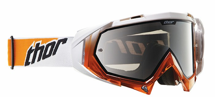 Cross Thor Hero goggles white-orange