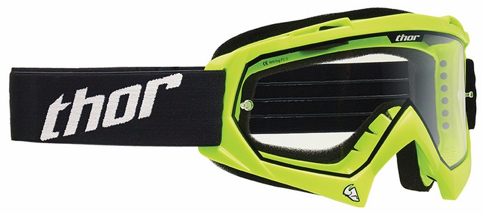 Thor Enemy goggle Cross Green Fluorescent