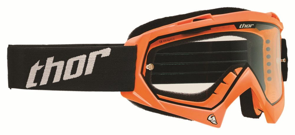 Thor Youth Enemy Goggles Flo orange