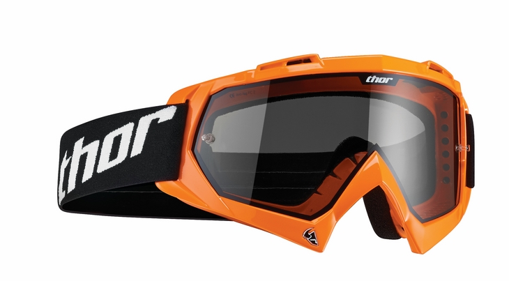 Thor Enemy Sand goggles orange fluo