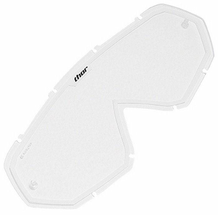 Replacement lens for Thor Hero Goggle clear white