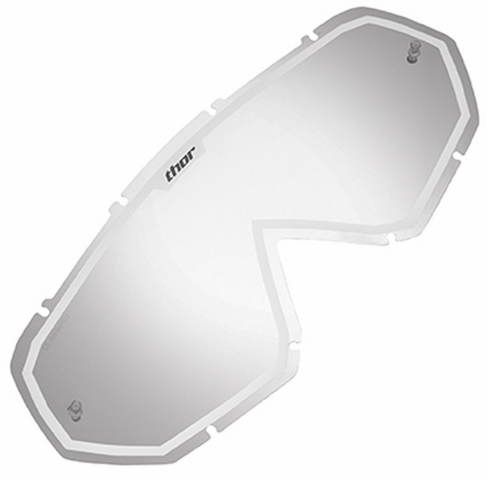 Replacement lens for Thor Hero Goggle mirros white