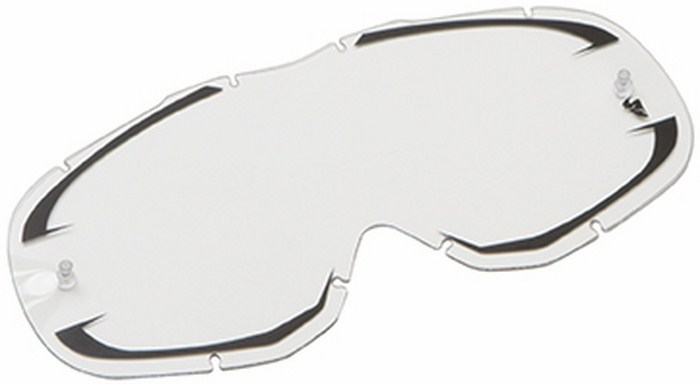 Replacement lens for Thor Ally Goggle clear black