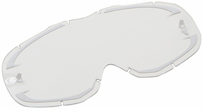 Replacement lens for Thor Ally Goggle clear white