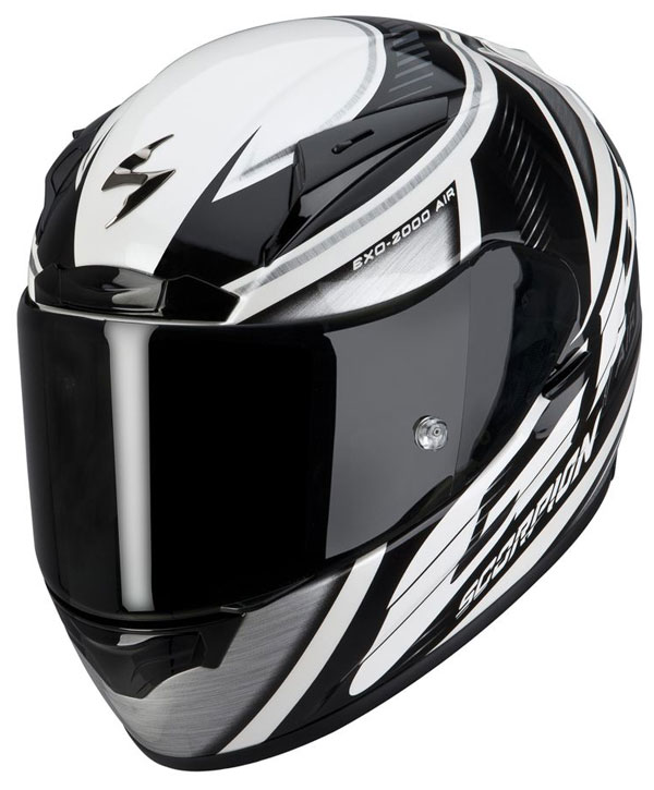 Full face helmet Scorpion EXO 2000 Air GP Black Grey White