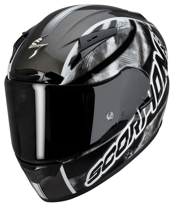 Casco integrale Scorpion EXO 2000 Sidewall Grigio scuro