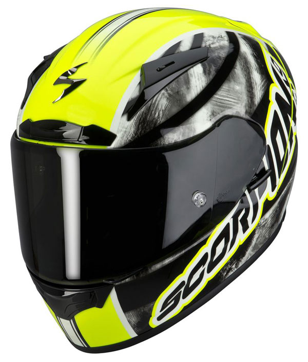 Full face helmet Scorpion EXO 2000 Sidewall Neon Yellow