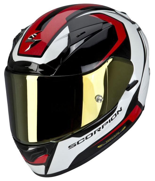 Full face helmet Scorpion EXO 2000 Mart Black Red White