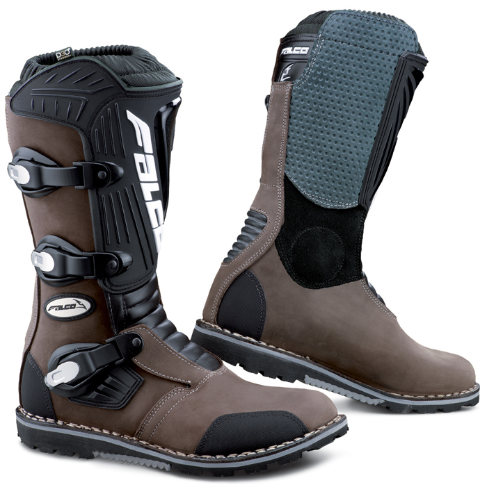 Falco Cross Edge Pro Leather Boots Brown