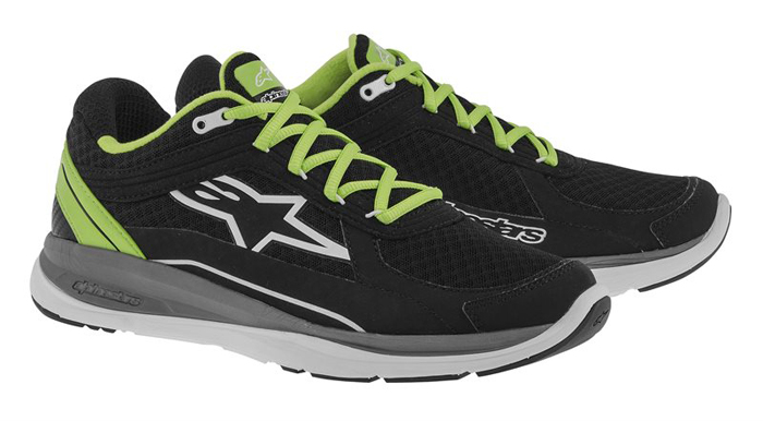 Alpinestars 100 Running Shoes Black Green