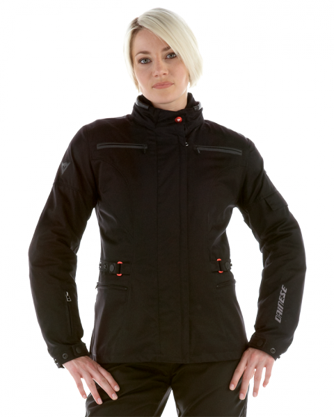 Dainese New Luska D-Dry Lady motorcycle jacket black