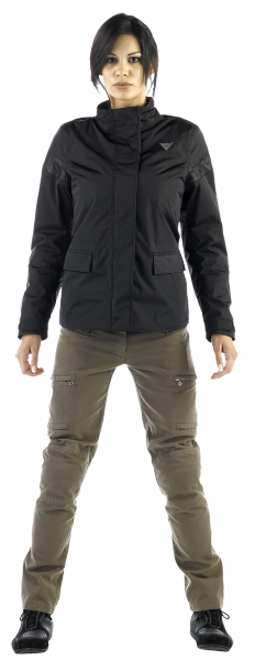Giacca moto donna Dainese METROPOLE JACKET D-DRY LADY Nero