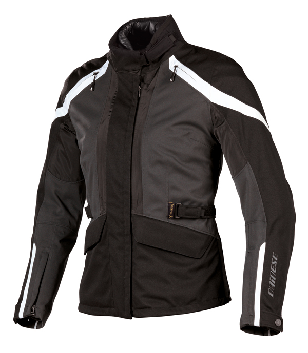 Dainese Two Delta D-Dry Lady jacket titanium-black-dawn blue