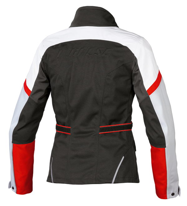 Dainese Two Delta D-Dry Lady jacket black-dawn blue-red