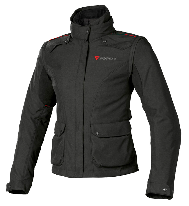 Giacca moto donna Dainese EVO SYSTEM D DRY LADY nera