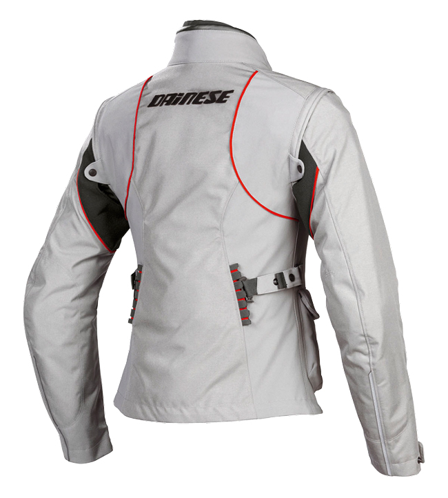 Giacca moto donna Dainese EVO SYSTEM D DRY LADY grigio