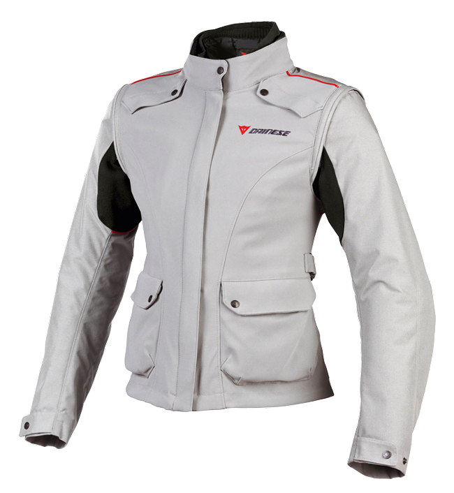 Dainese EVO SYSTEM D DRY LADY motorcycle jacket steeple gray