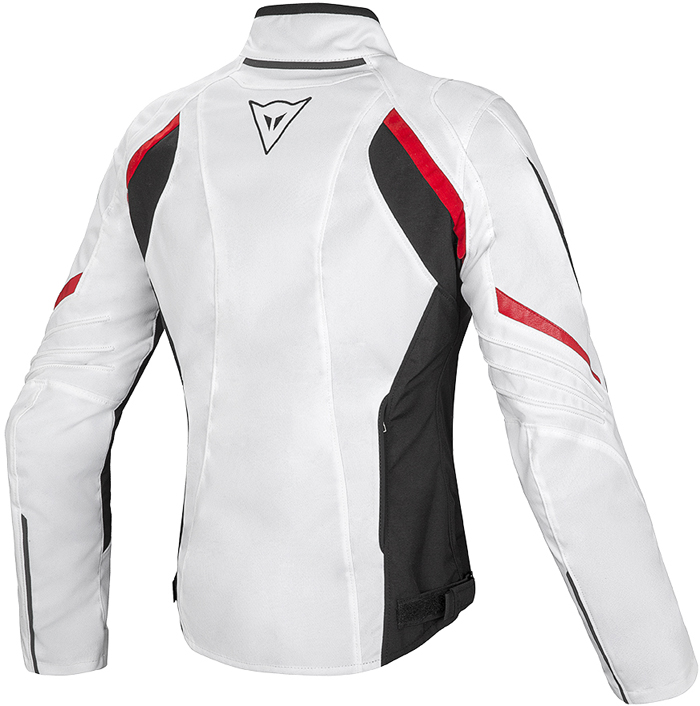 Dainese Laguna Seca D-Dry woman jacket White Black Red
