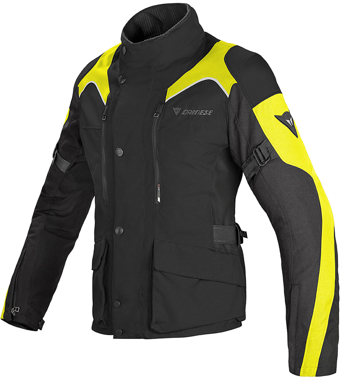 Dainese Tempest D-Dry N woman jacket Black Yellow