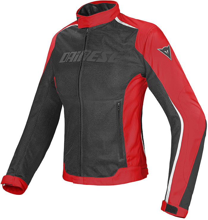 Giacca moto donna Dainese Hydra Flux D-Dry Nero Rosso Bianco