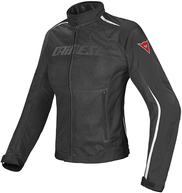 Giacca moto donna Dainese Hydra Flux D-Dry Nero Bianco