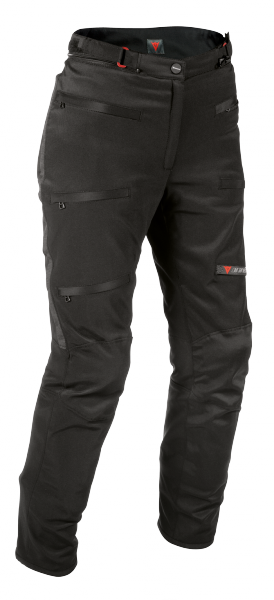 Pantaloni moto donna Dainese Sherman Pro D-Dry Lady neri