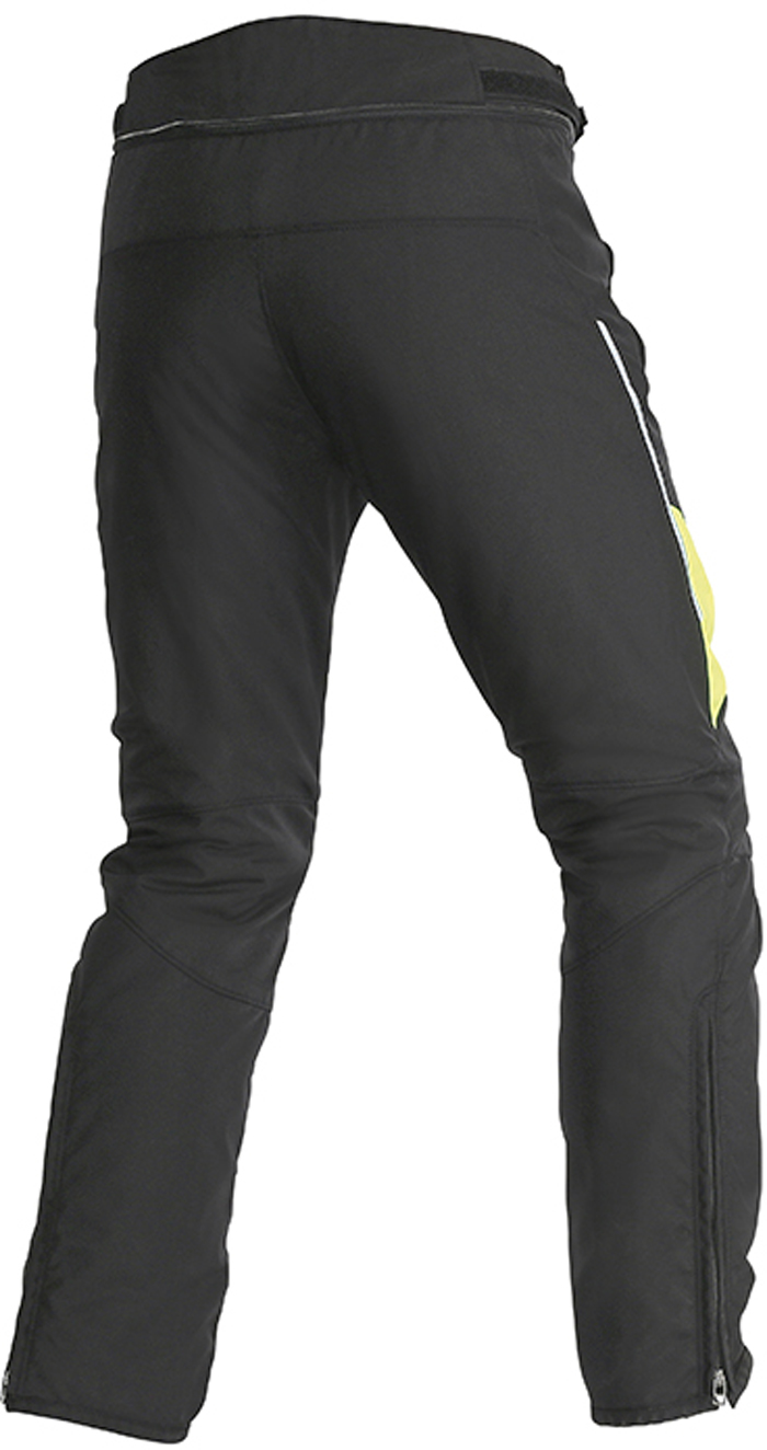 Dainese Tempest D-Dry woman trousers Black Yellow
