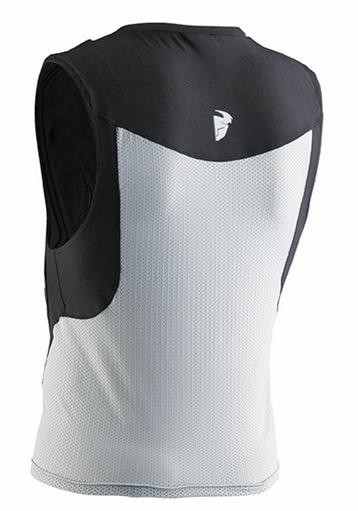 Corpetto protettivo Thor Comp Deflector nero-bianco
