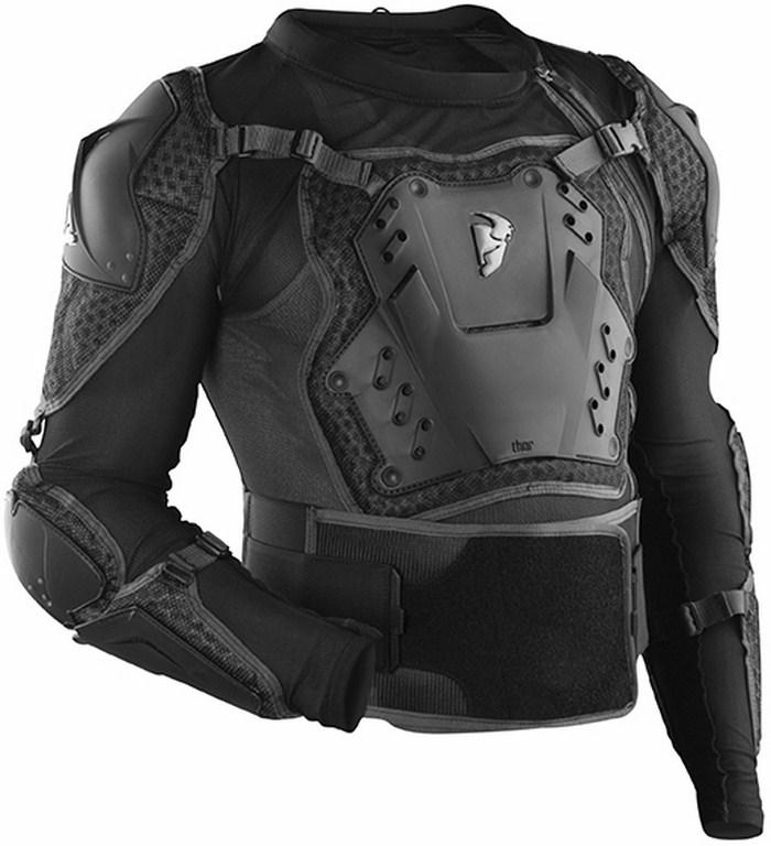 Pettorina protettiva Thor Impact Rig SE nera