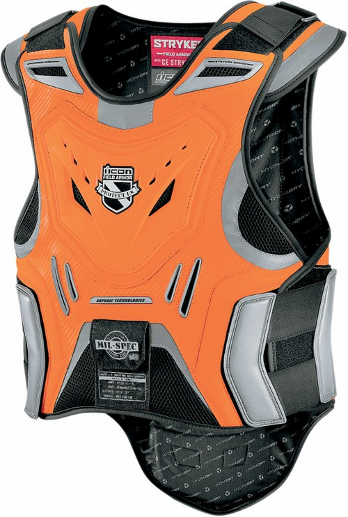 Pettorina Icon Stryker Mil-Spec vest Arancio fluo