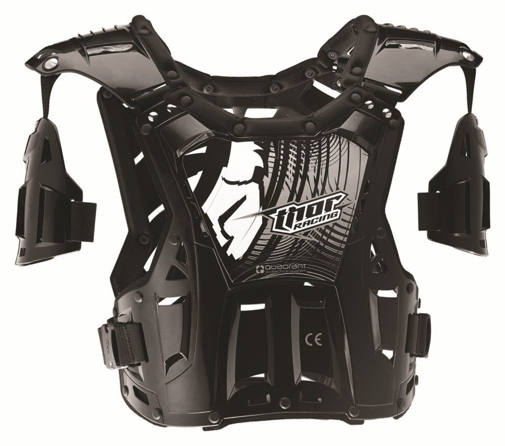 Thor Youth Quadrant Roost Guard black white