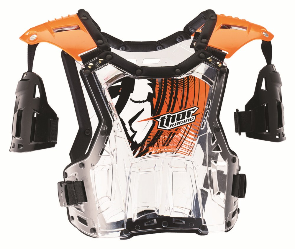 Thor Youth Quadrant Roost Guard flo orange