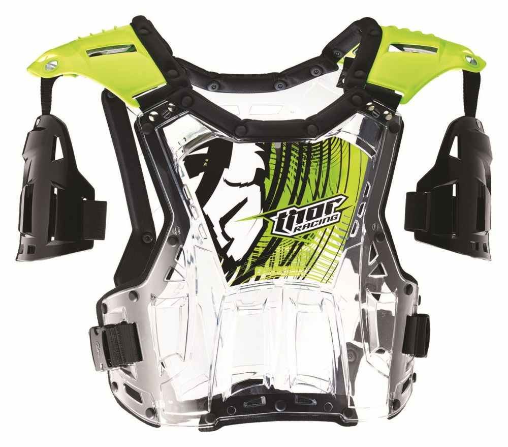 Thor Youth Quadrant Roost Guard flo green