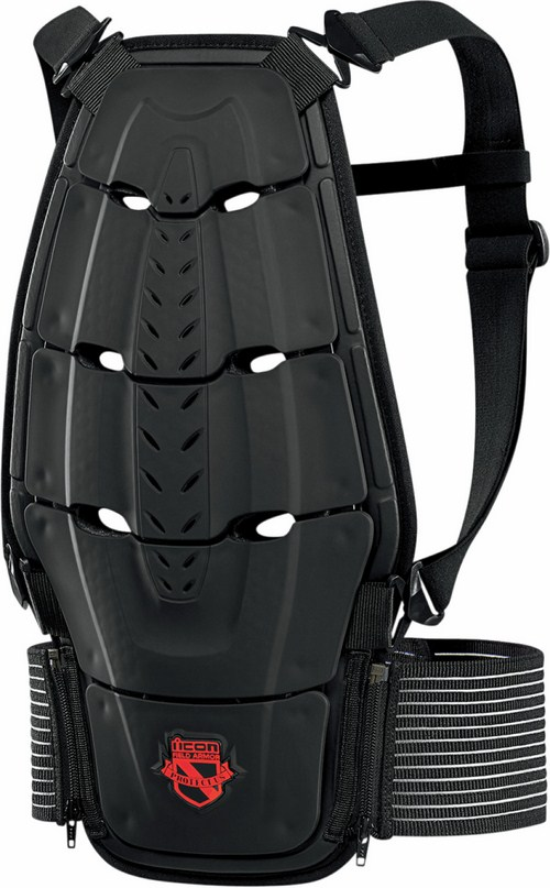 Icon Stryker Back Protector Black