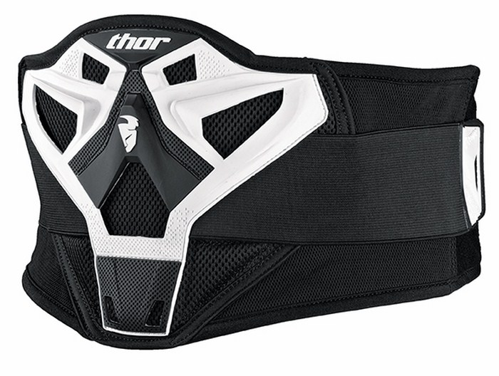 Thor Sector kidney belt white
