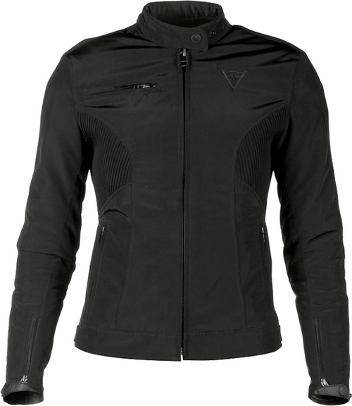Dainese Alice Tex Lady women motorcycle jacket black