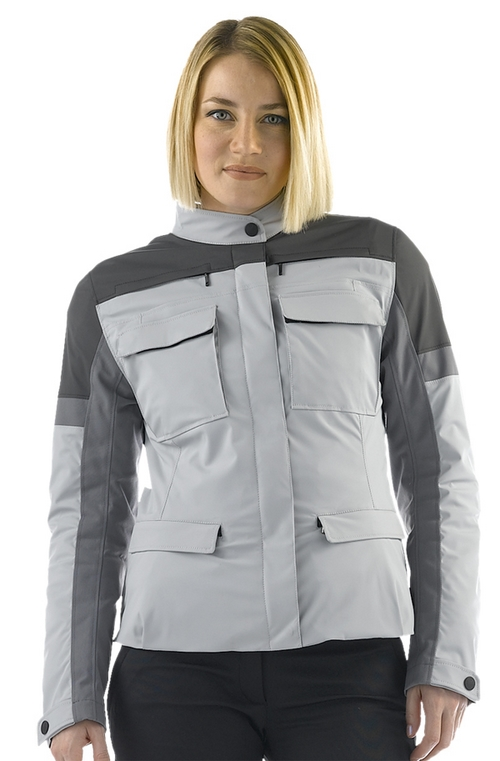 Giacca moto donna Dainese Tayga Tex Lady high rise-castle rock