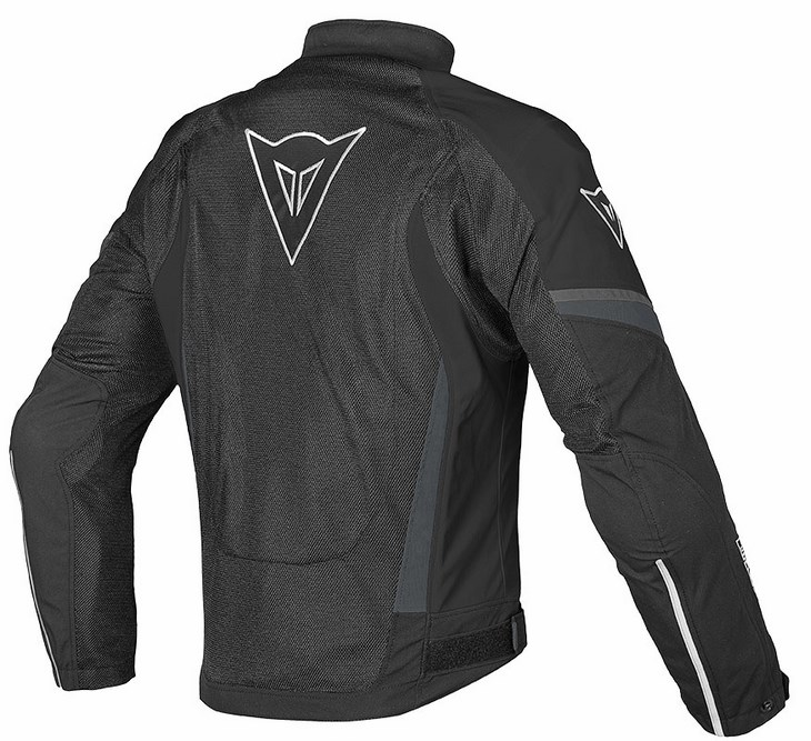 Dainese Air Crono Tex Lady jacket black black dark gull gray