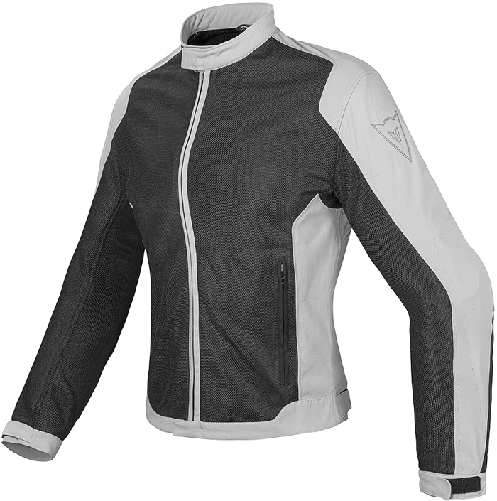 Giacca moto donna estiva Dainese Air Flux D1 Tex Nero High rise