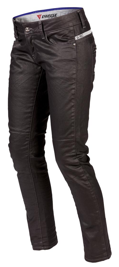 Pantaloni denim Dainese D19 Denim Lady neri