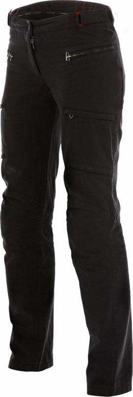 Women motorcycle pants Dainese Yamato Ages Cot 2C Lady Bla