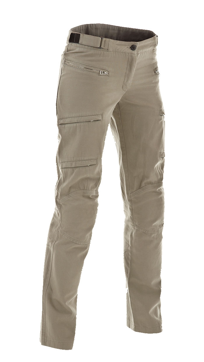 Women motorcycle pants Dainese Yamato Ages Cot Lady 2C Sand