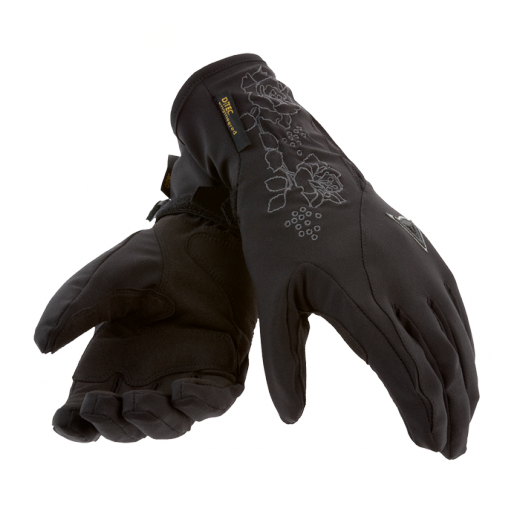 Dainese SVELTE D-DRY LADY woman gloves Black