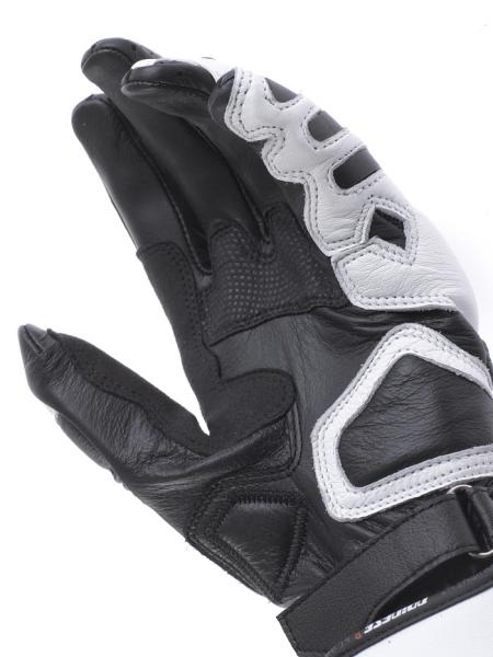 Dainese Pro Carbon Lady motorcycle gloves white-black-red