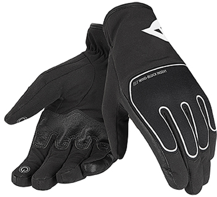 Dainese Plaza D-Dry woman gloves Black