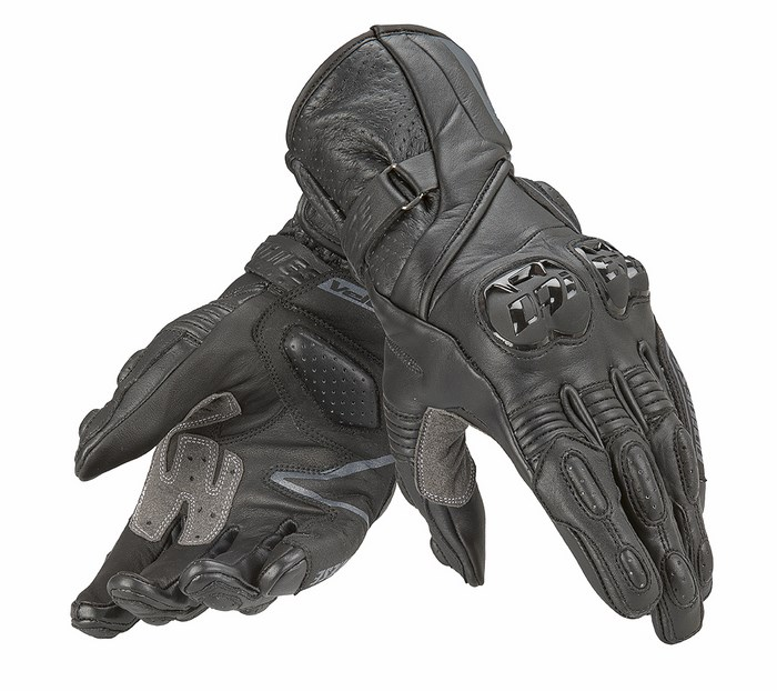 Women Motorcycle Gloves Dainese leather Fast Lady Black