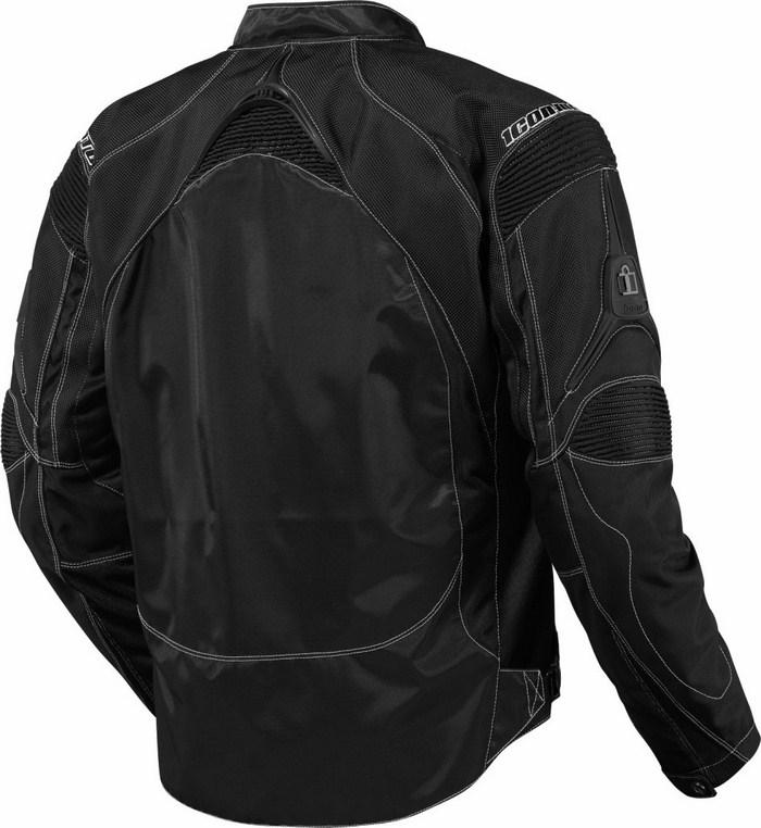 Summer Icon Contra Motorcycle Jacket Black