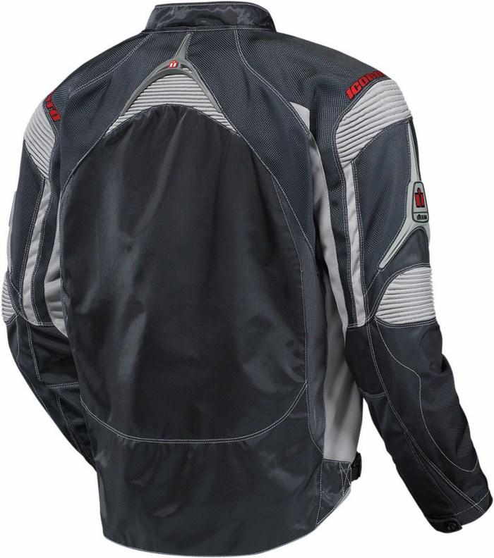 Icon Contra Motorcycle Jacket Summer Slate