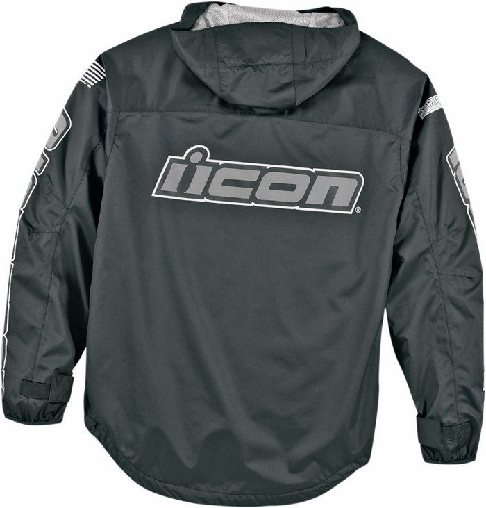 Icon PDX Rain Jacket Black